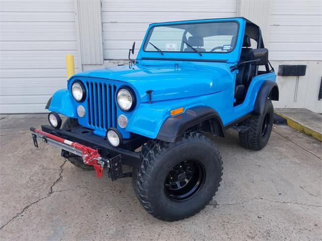 1977 Jeep CJ5 (CC-1303420) for sale in Houston , Texas