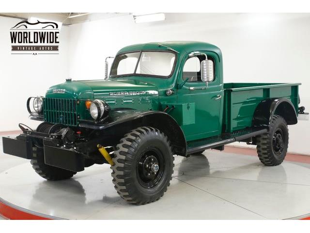 1957 Dodge Power Wagon (CC-1303458) for sale in Denver , Colorado