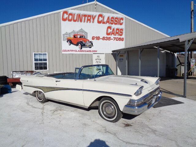 1958 Ford Fairlane 500 (CC-1303525) for sale in Staunton, Illinois