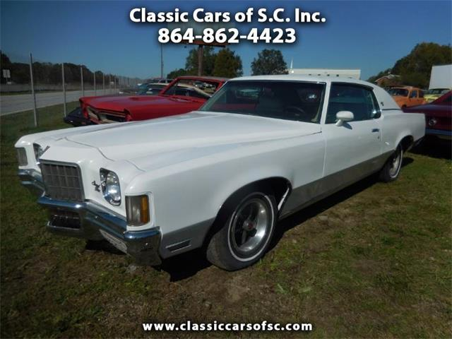 1972 Pontiac Grand Prix (CC-1303528) for sale in Gray Court, South Carolina