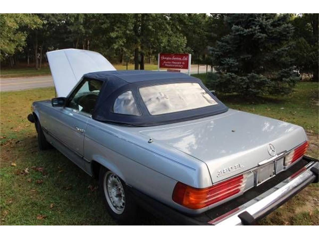 1981 Mercedes-Benz 380SL (CC-1303563) for sale in Cadillac, Michigan
