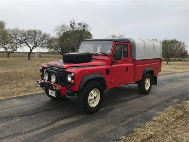 1987 Land Rover Defender (CC-1303566) for sale in Fredericksburg, Texas