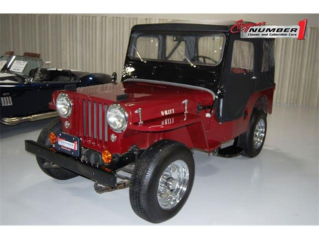 1953 willys pick up wiring schematic 1953 willys jeep for sale on classiccars com  1953 willys jeep for sale on