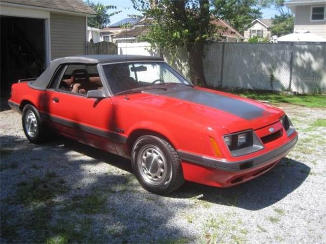 1986 Ford Mustang (CC-1303825) for sale in Cadillac, Michigan