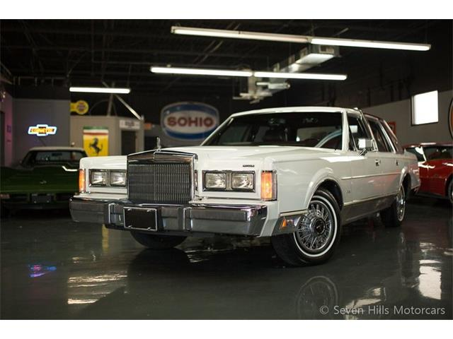 1988 Lincoln Town Car (CC-1303847) for sale in Cincinnati, Ohio
