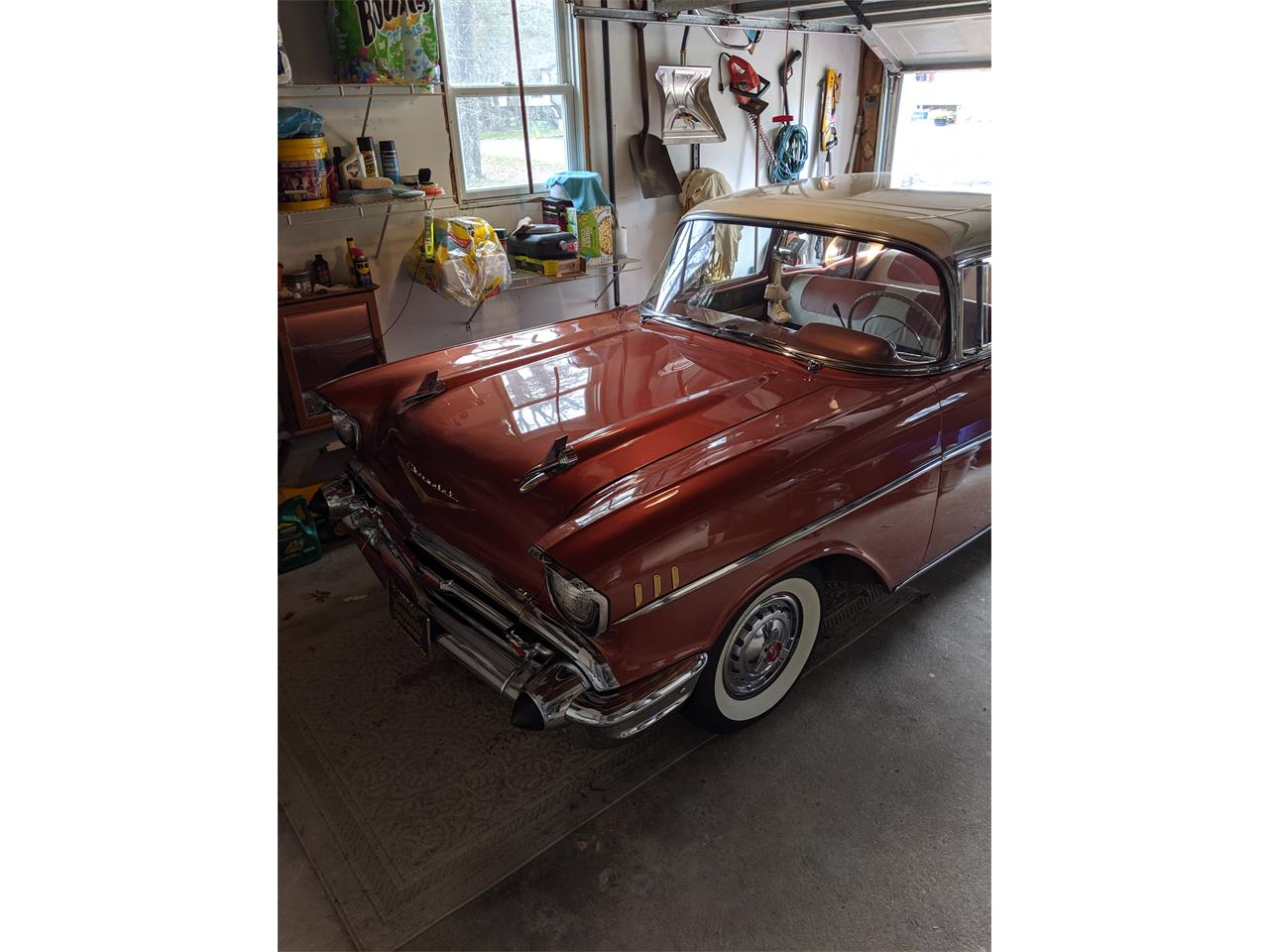 1957 Chevrolet Bel Air (CC-1300389) for sale in Clayton, New Jersey