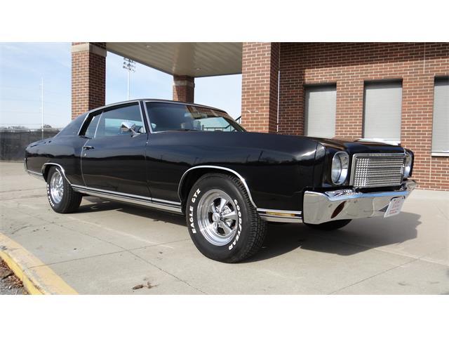 1970 Chevrolet Monte Carlo (CC-1303940) for sale in Davenport, Iowa