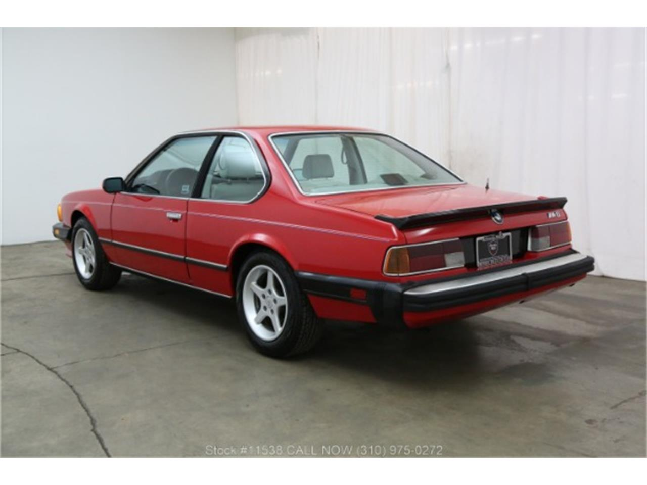 1987 BMW M6 (CC-1303993) for sale in Beverly Hills, California