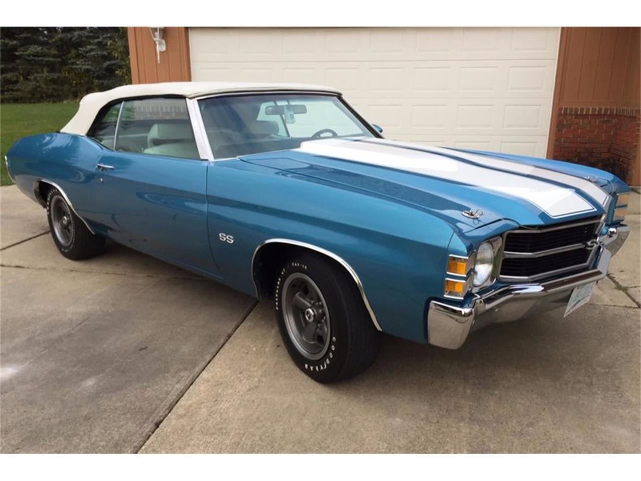 1971 Chevrolet Chevelle (CC-1304130) for sale in Troy, Michigan