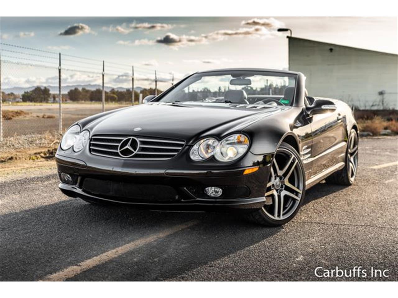 2003 Mercedes-Benz SL500 (CC-1304156) for sale in Concord, California