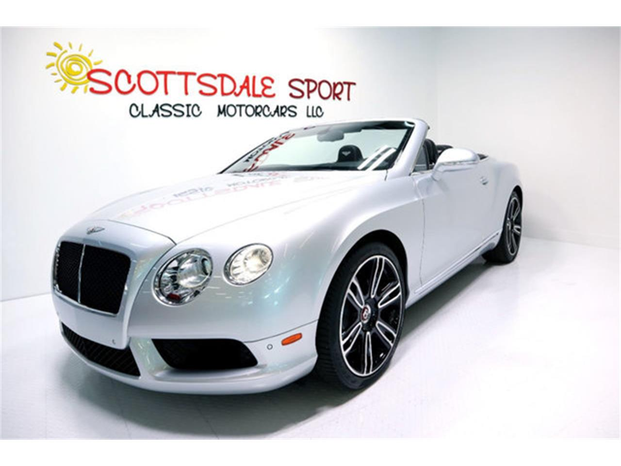 2014 Bentley Continental GTC V8 (CC-1304158) for sale in Scottsdale, Arizona