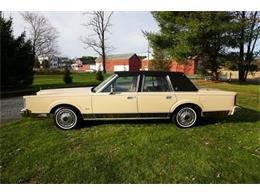 1984 Lincoln Town Car (CC-1304162) for sale in Monroe, New Jersey