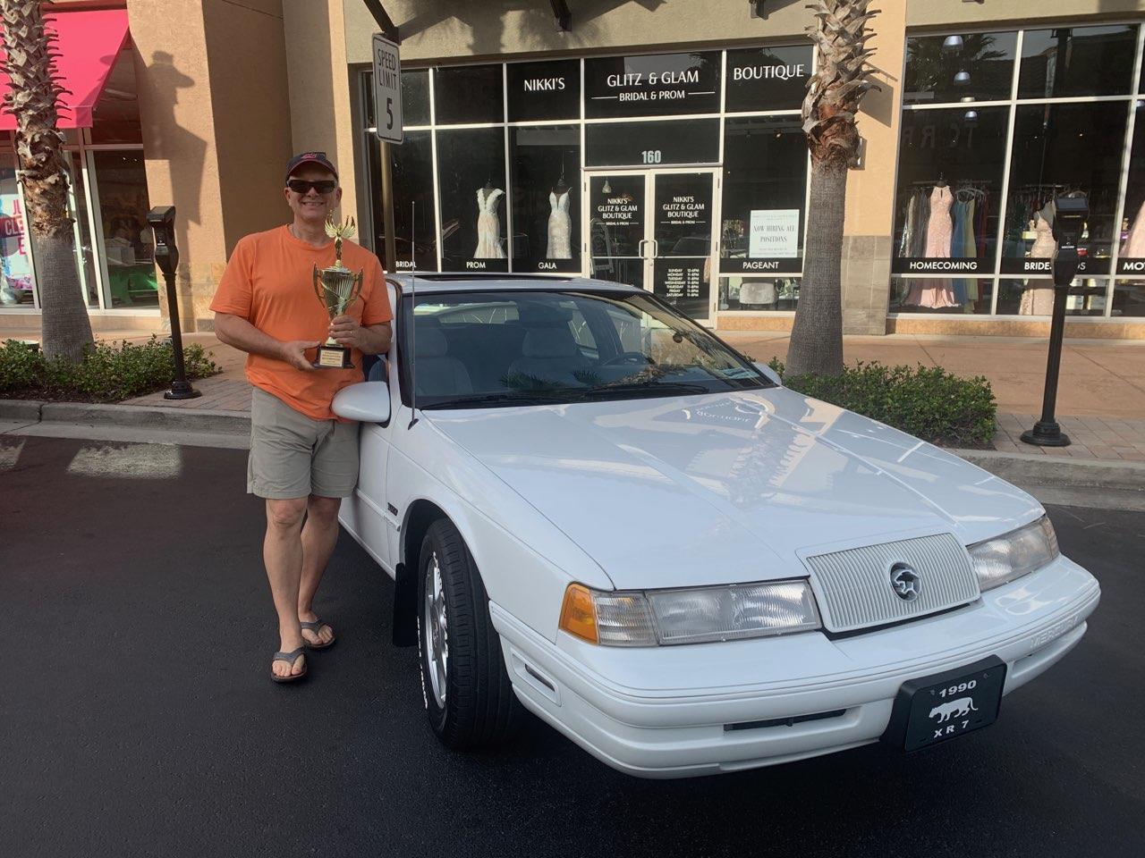 1990 Mercury Cougar XR7 (CC-1304171) for sale in Mount Dora, Florida