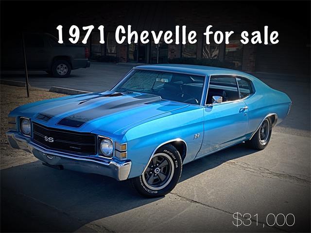 1971 Chevrolet Chevelle (CC-1304188) for sale in Addison, Illinois