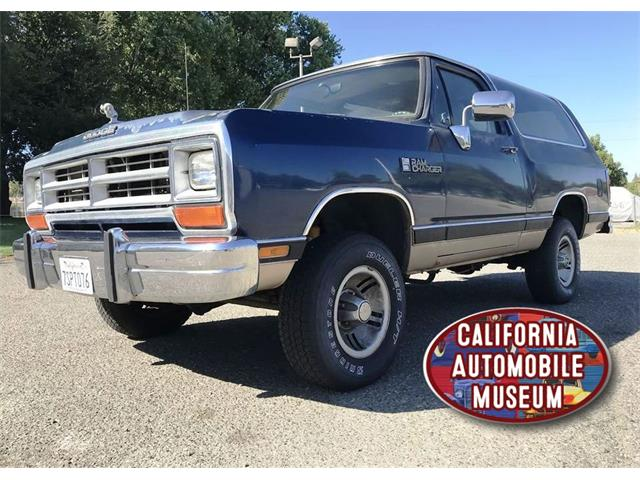 1990 Dodge Ramcharger (CC-1304213) for sale in Sacramento, California