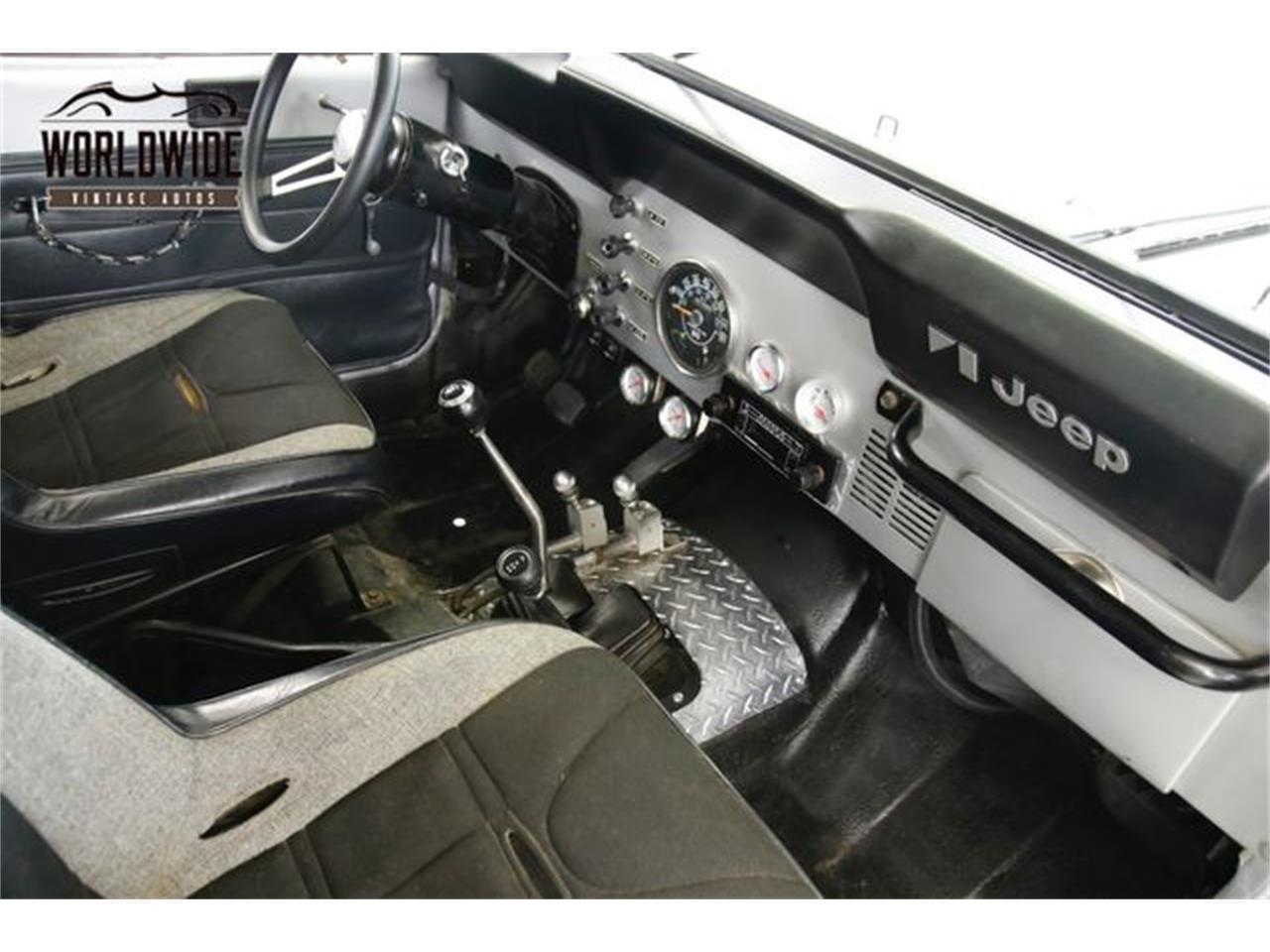 1983 Jeep CJ7 (CC-1304317) for sale in Denver , Colorado