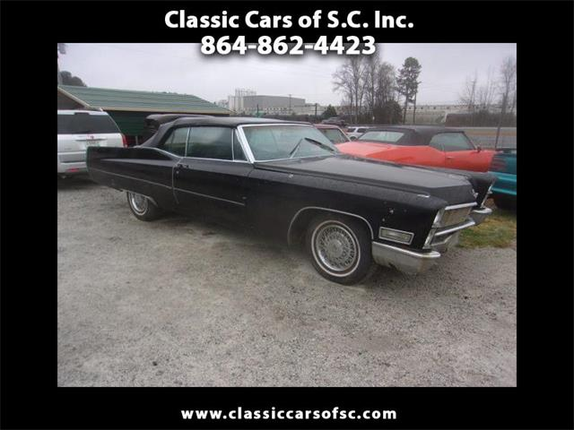 1968 Cadillac DeVille (CC-1304348) for sale in Gray Court, South Carolina
