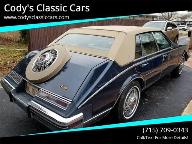 1985 Cadillac Seville (CC-1304575) for sale in Stanley, Wisconsin
