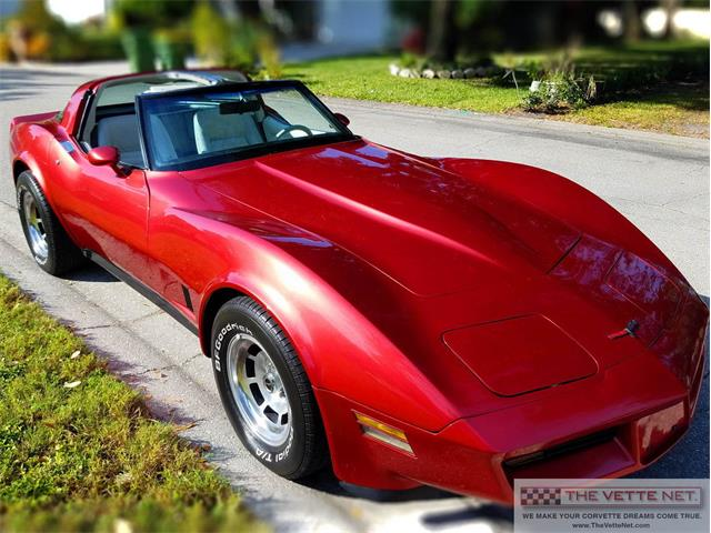 1981 Chevrolet Corvette (CC-1304579) for sale in Sarasota, Florida