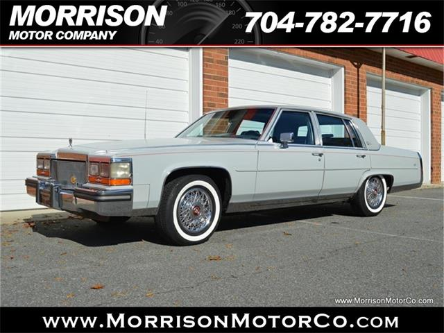 1989 Cadillac Brougham d'Elegance (CC-1300047) for sale in Concord, North Carolina