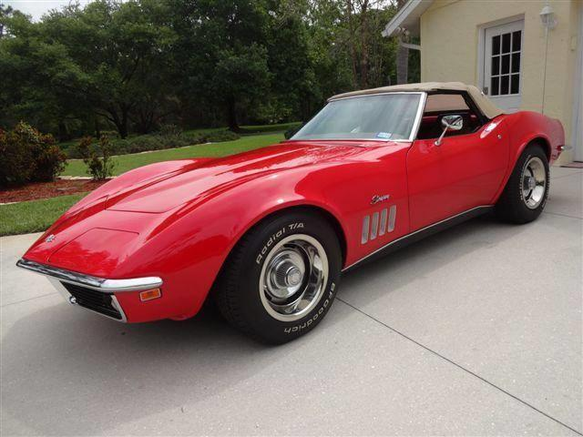 1969 Chevrolet Corvette Stingray (CC-1305208) for sale in Sarasota, Florida