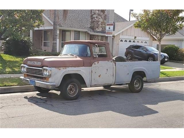 1959 Ford F100 (CC-1305218) for sale in Gardena, California