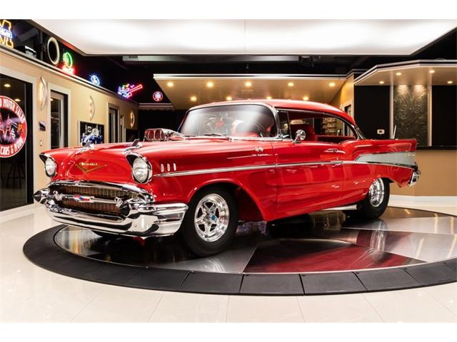 1957 Chevrolet Bel Air (CC-1305251) for sale in Plymouth, Michigan