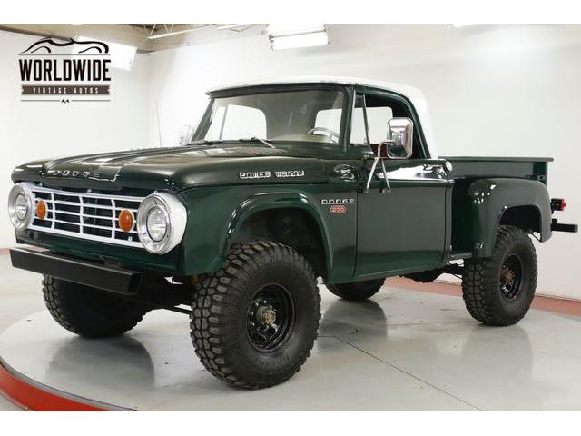 1967 Dodge Power Wagon (CC-1305262) for sale in Denver , Colorado