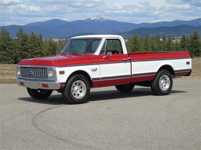 1969 Chevrolet Pickup (CC-1305686) for sale in Spokane, Washington
