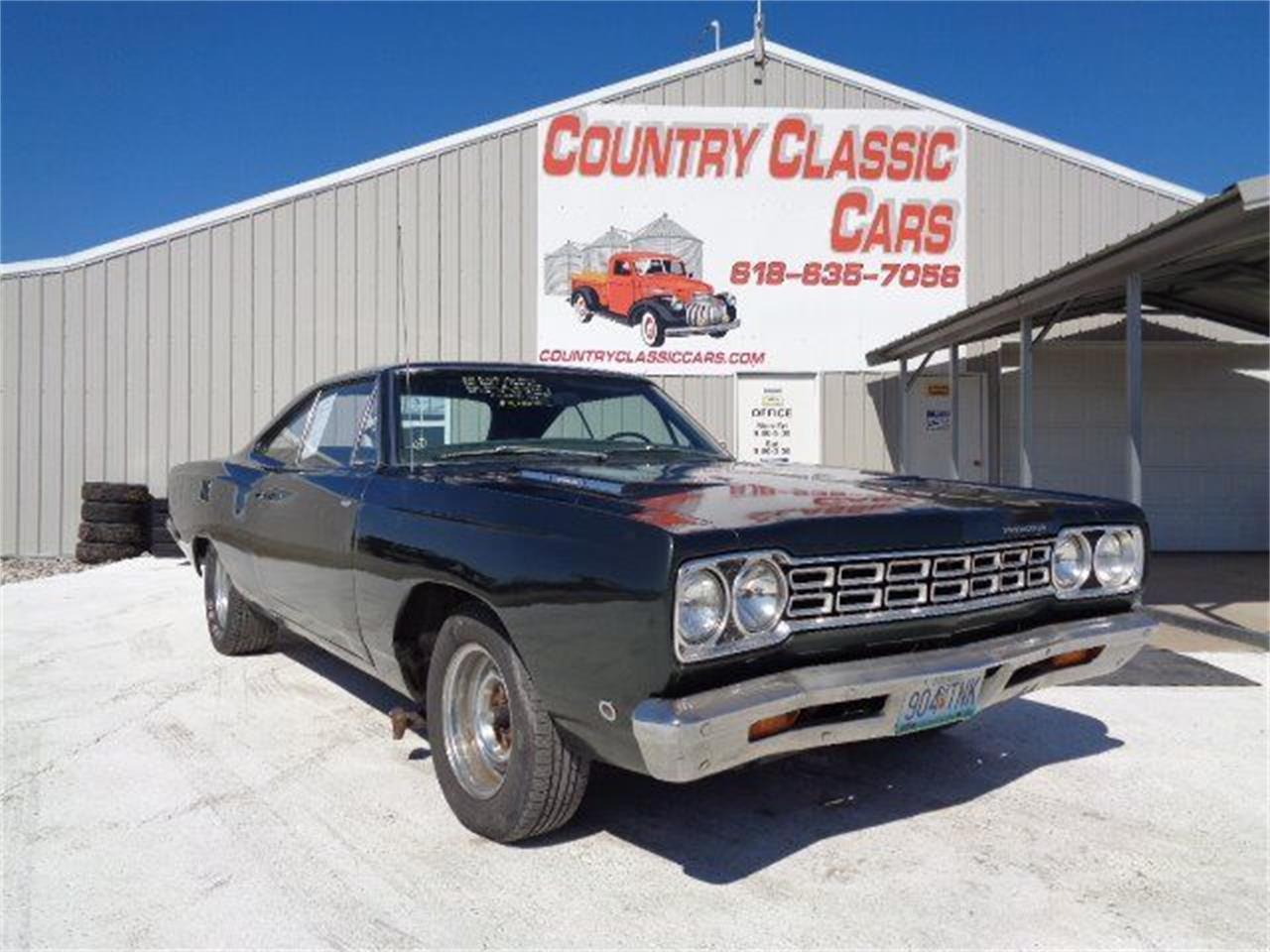 1968 Plymouth Road Runner (CC-1305796) for sale in Staunton, Illinois