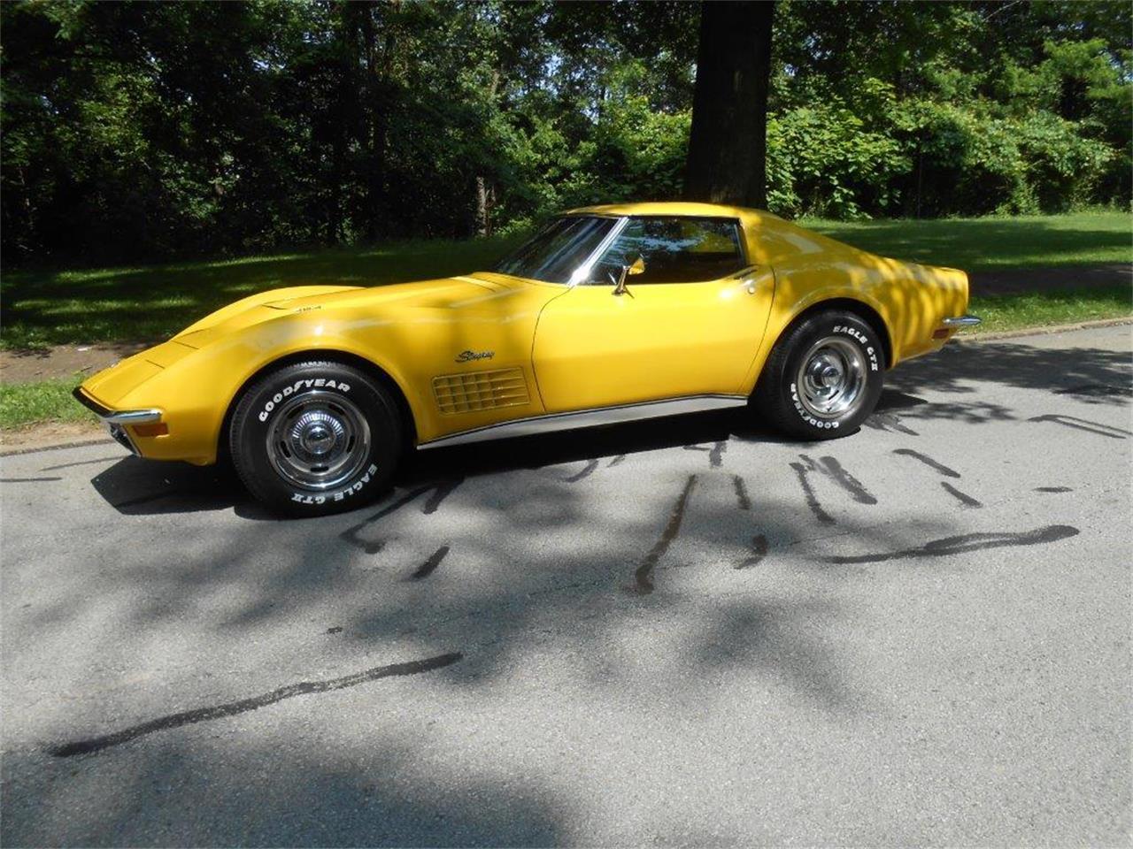 1971 Chevrolet Corvette (CC-1305958) for sale in CONNELLSVILLE, Pennsylvania