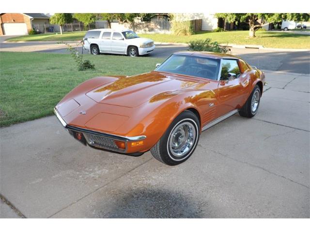 1972 Chevrolet Corvette (CC-1306068) for sale in Cadillac, Michigan