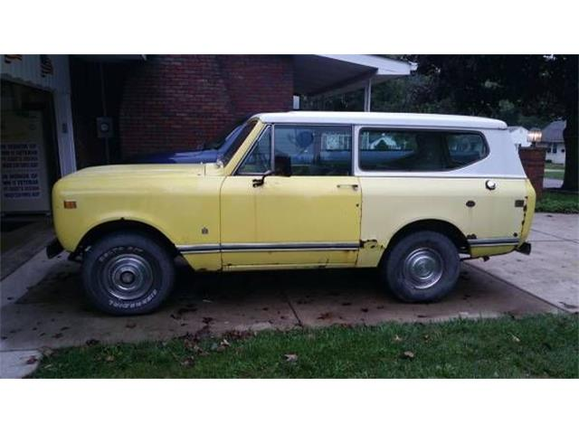 1977 International Scout (CC-1300609) for sale in Cadillac, Michigan