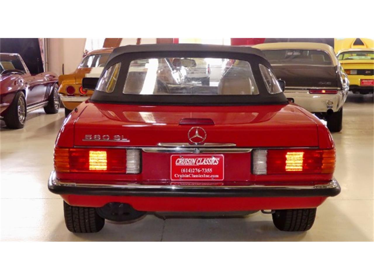 1988 Mercedes-Benz 560SL (CC-1306116) for sale in Columbus, Ohio