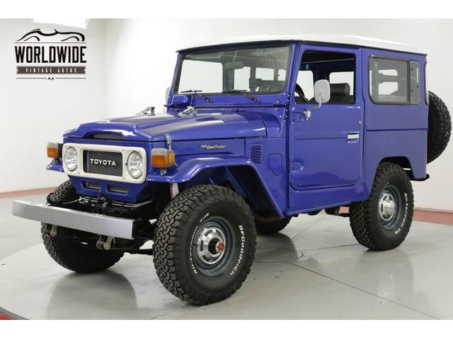1982 Toyota Land Cruiser FJ (CC-1306235) for sale in Denver , Colorado
