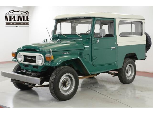 1977 Toyota Land Cruiser FJ (CC-1306237) for sale in Denver , Colorado