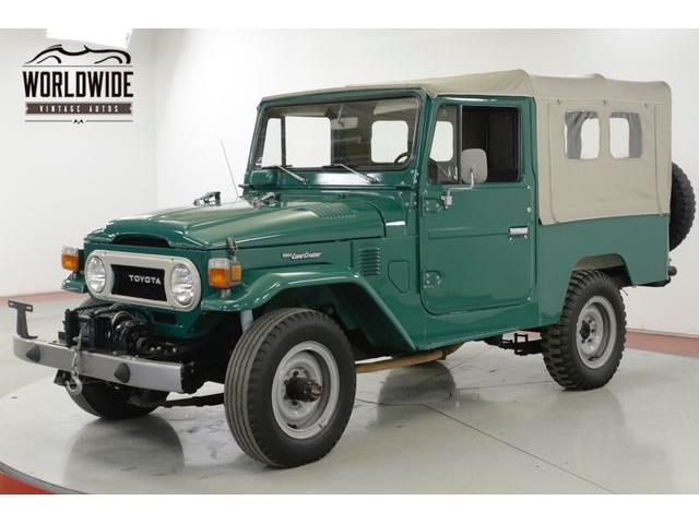 1978 Toyota Land Cruiser FJ (CC-1306238) for sale in Denver , Colorado