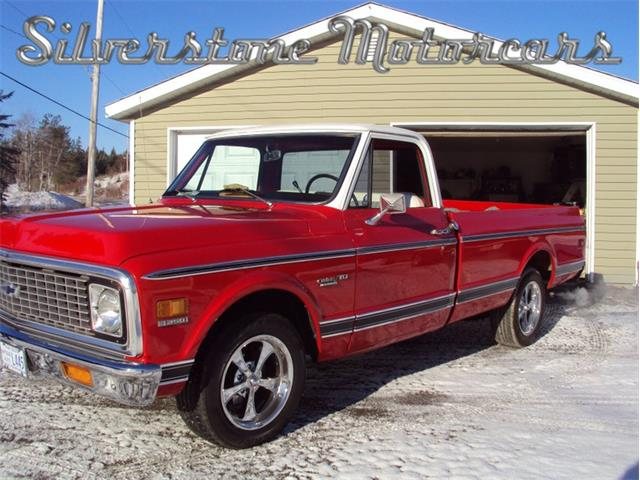 1971 Chevrolet C10 (CC-1306284) for sale in North Andover, Massachusetts