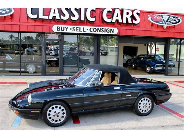 1991 Alfa Romeo Spider Veloce (CC-1300640) for sale in Sarasota, Florida
