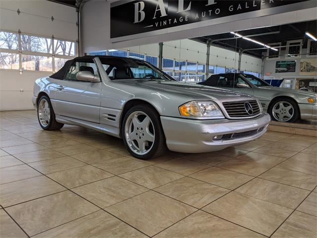 2001 Mercedes-Benz SL-Class (CC-1306416) for sale in St. Charles, Illinois