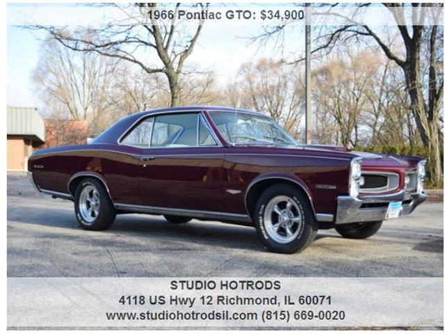 1966 Pontiac GTO (CC-1306463) for sale in RICHMOND, Illinois