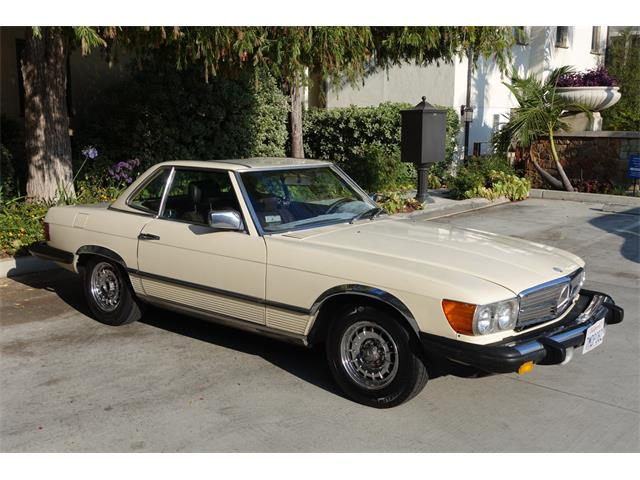 1983 Mercedes-Benz 380SL (CC-1306524) for sale in West Hollywood, California