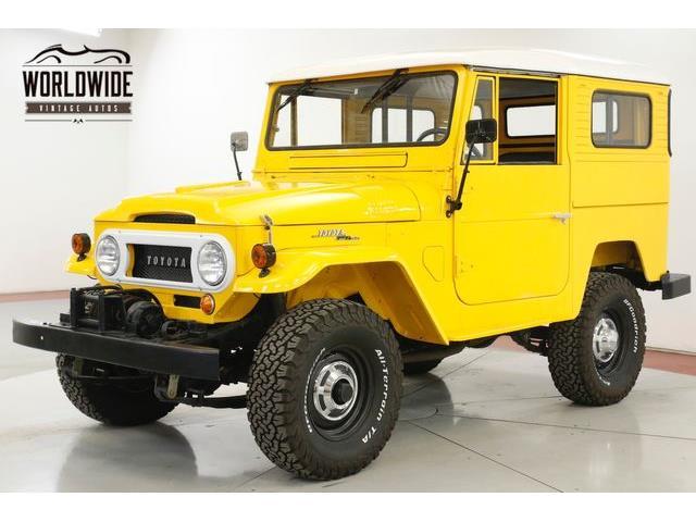 1965 Toyota Land Cruiser FJ40 (CC-1306552) for sale in Denver , Colorado