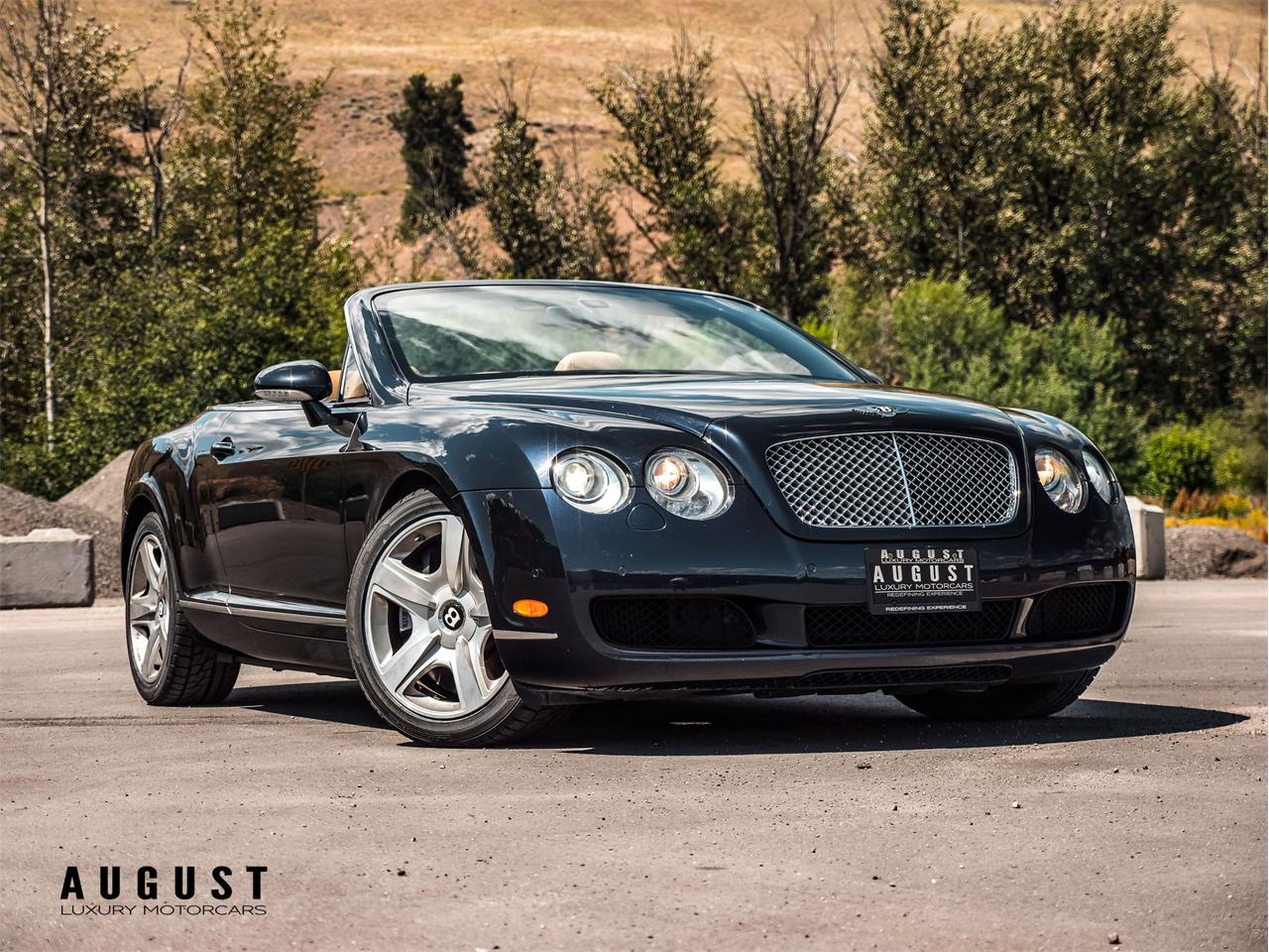 2007 Bentley Continental GTC (CC-1306906) for sale in Kelowna, British Columbia
