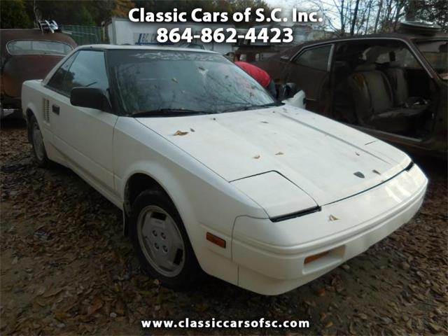1986 Toyota MR2 (CC-1306909) for sale in Gray Court, South Carolina