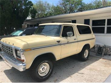 1979 Ford Bronco (CC-1307175) for sale in Cadillac, Michigan