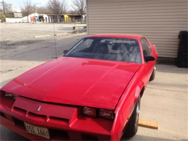 1983 Chevrolet Camaro (CC-1307250) for sale in Cadillac, Michigan