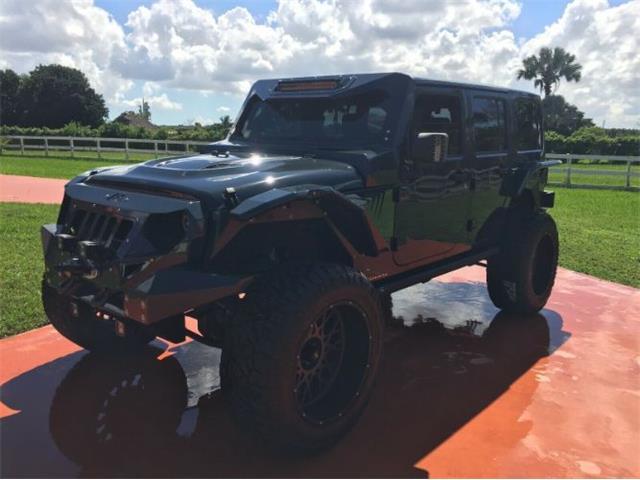 2017 Jeep Wrangler (CC-1307256) for sale in Cadillac, Michigan