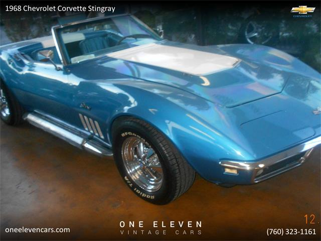 1968 Chevrolet Corvette Stingray (CC-1307282) for sale in Palm Springs, California