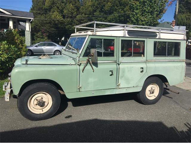 1968 Land Rover Series IIA (CC-1307320) for sale in Victoria, British Columbia